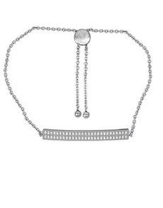 gifts: 925 Silver Cubic Bar 19cm Bracelet!