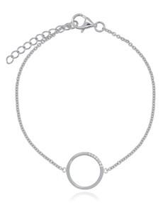jewellery: Silver Circle of Life Bracelet!