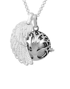 gifts: Shiroko Harmony Bell Silver Tree of Life Necklace!