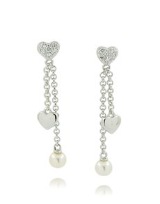 jewellery: 925 Silver Fresh Water Round Pearl Earrings!