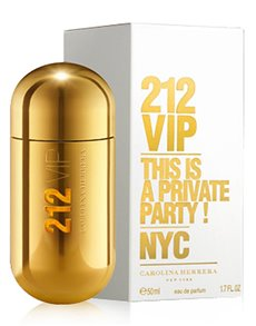 gifts: Carolina Herrera 212 VIP 50ml EDP!