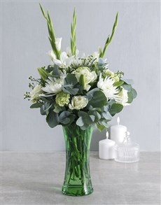 flowers: Serenity Flowers in Vase!