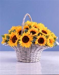 flowers: Basket Of Sunshine!
