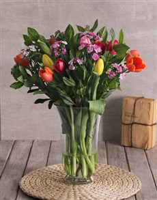 flowers: Tremendous Tulips Arrangement!