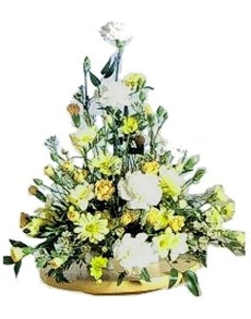 flowers: Lemon Lustre Arrangement!