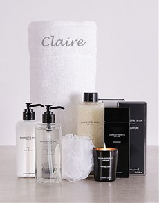 gifts: Charlotte Rhys Personalised Bath Gift!