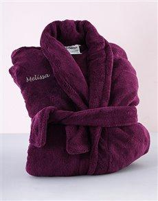 flowers: Personalised Purple Gown !