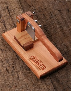 gifts: Personalised Retro Biltong Cutter!