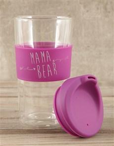gifts: Personalised Mama Bear Travel Mug!