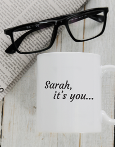gifts: Personalised You Im Looking For Mug!