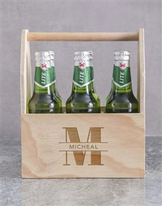 gifts: Personalised Stand Out Castle Beer Caddy!