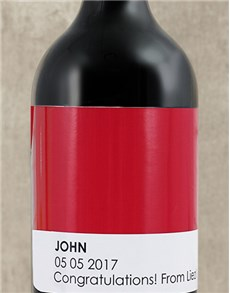 gifts: Personalised Say It Wine!