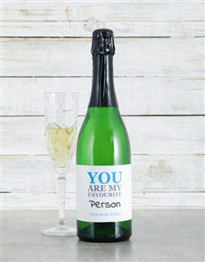 gifts: Personalised Favourite Sparkling Wine!