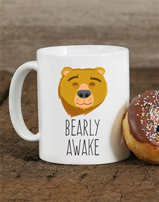 gifts: Personalised Bearly Awake Mug!