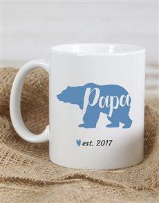 gifts: Personalised Papa Bear Mug!