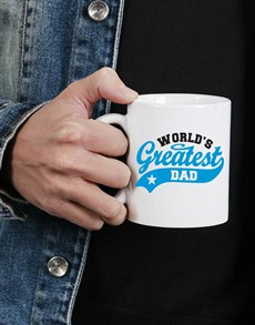 gifts: Personalised Greatest Dad Mug!