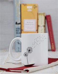 gifts: Personalised Dandelion Mug!