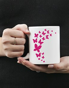 gifts: Personalised Butterfly Mug!