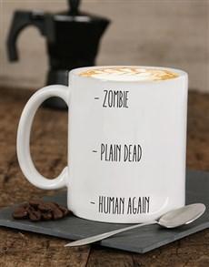 gifts: Personalised Human Again Mug!