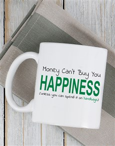 gifts: Personalised Buy Happiness Mug!