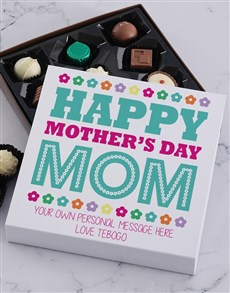 gifts: Personalised Happy Mother's Day Choc Tray!