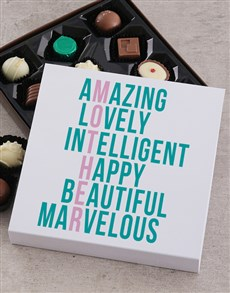 gifts: Personalised Mother Choc Tray!