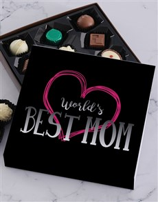 gifts: Personalised Worlds Best Mom Choc Tray!