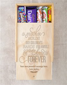 gifts: Personalised Hearts Forever Choc Crate!