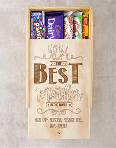 gifts: Personalised Best Mother Choc Crate!