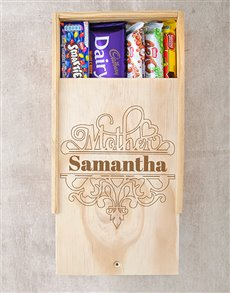 gifts: Personalised Special Mother Choc Crate!