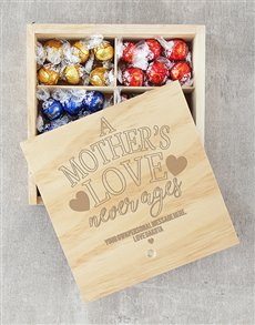 gifts: Personalised Mothers Love Lindt Crate!
