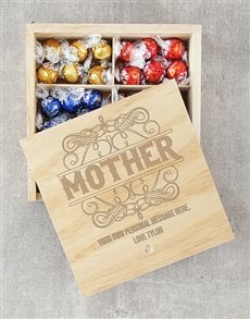 gifts: Personalised Mother Lindt Crate!
