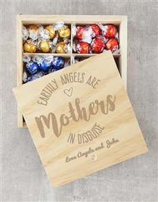 gifts: Personalised Earthly Angels Lindt Crate!