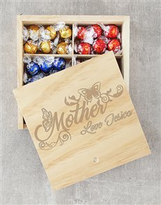 gifts: Personalised Butterfly Mother Lindt Crate!