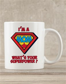 gifts: Personalised Mom Superpower Mug!