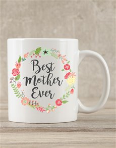 gifts: Personalised Best Mother Ever Mug!