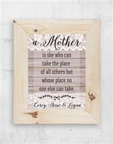 gifts: Personalised Mom & I Frame!