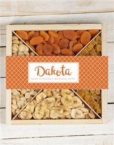 gifts: Personalised Orange Nut Tray!