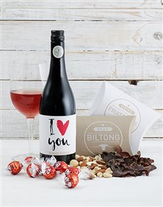 gifts: Personalised Gourmet Love Hamper!