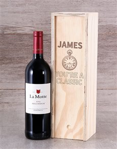 gifts: Personalised Classic Wine Crate!