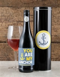 gifts: Personalised My Anchor Wine Tin!