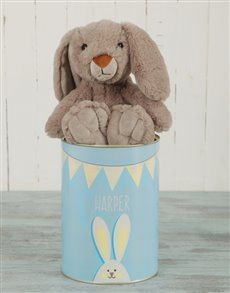 gifts: Personalised  Bunny Tin!