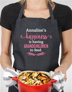 gifts: Personalised Grandchildren To Feed Apron!