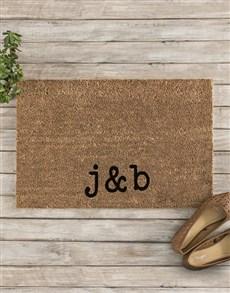 gifts: Personalised Initials Doormat!