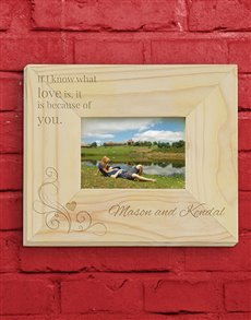 gifts: Personalised Soul Mate Photo Frame!
