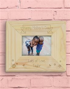 gifts: Personalised Happy Mother's Day Photo Frame!