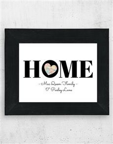 gifts: Personalised HOME Frame!