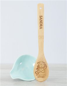 gifts: Personalised Mixed With Love Spoon!