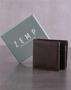 gifts: Personalised Brown Jinger Jack James Mens Wallet!