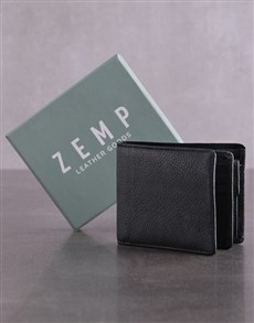 gifts: Personalised Black Jinger Jack James Mens Wallet!